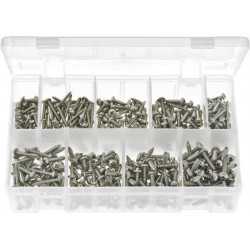 ASSORTED SELF TAPPING SCREWS (ST/STEEL) (V)