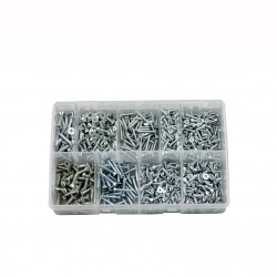 ASSORTED SELF TAPPING SCREWS (C/SUNK)