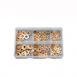 ASSORTED COPPER WASHERS (IMPERIAL)