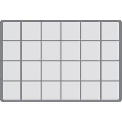 AB 'MAX BOX' (24 FIXED COMPARTMENTS) (V)